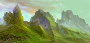 Valley by elbardo
