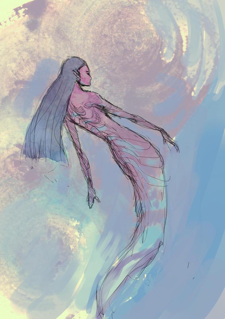 Mermaid by elbardo