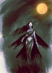 Crowgirl by elbardo