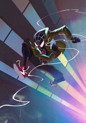 Spider-verse Color commission