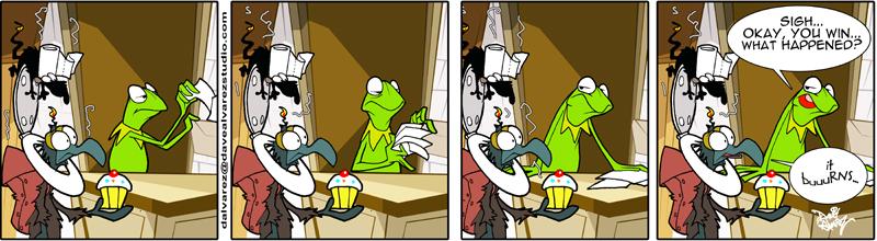 Muppet Comic Strip 2009 by DaveAlvarez