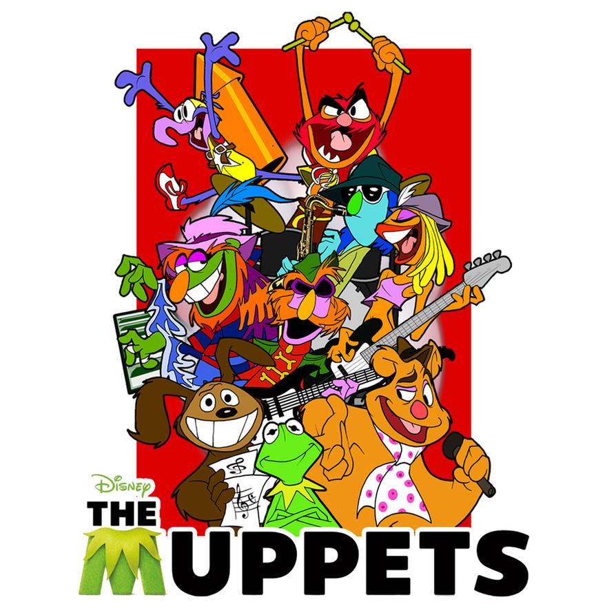 Muppets design contest by DaveAlvarez