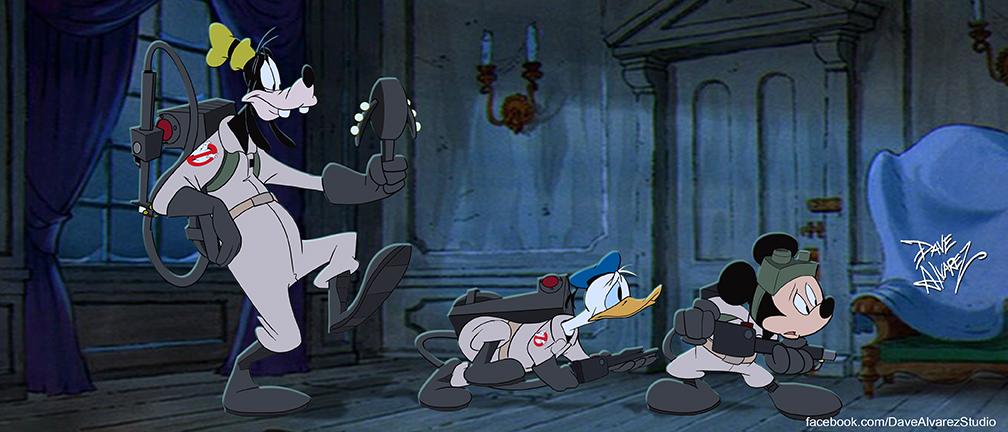 Lonesome Ghostbusters frame by DaveAlvarez
