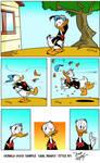 DONALD DUCK by Dave Alvarez in Carl Barks Style