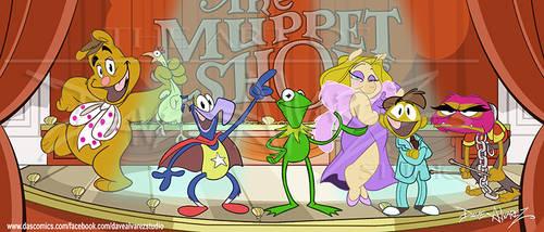 Muppet Show Cast by DaveAlvarez