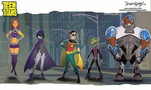 Teen Titans lineup