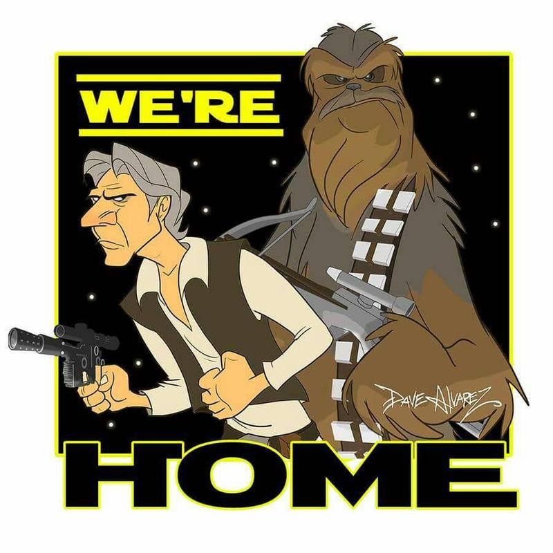 We are home by DaveAlvarez