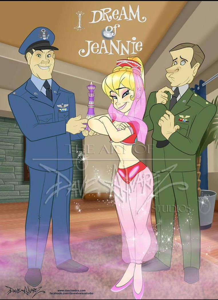 I Dream of Jeannie Animated by DaveAlvarez