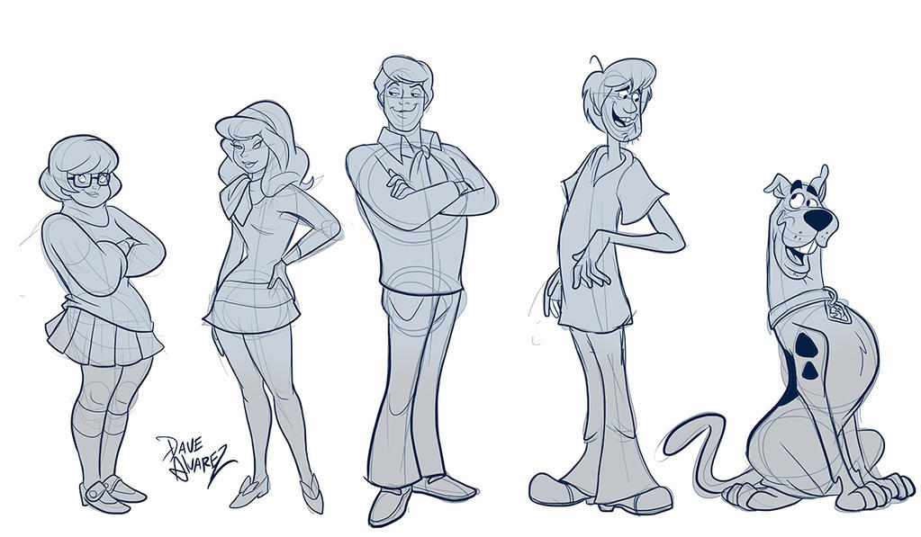 Scooby doo coloring pages velma - Ratejna