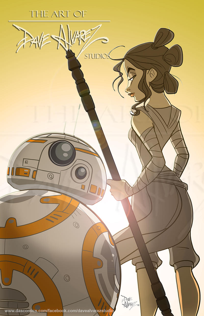 A Force Awakens by DaveAlvarez