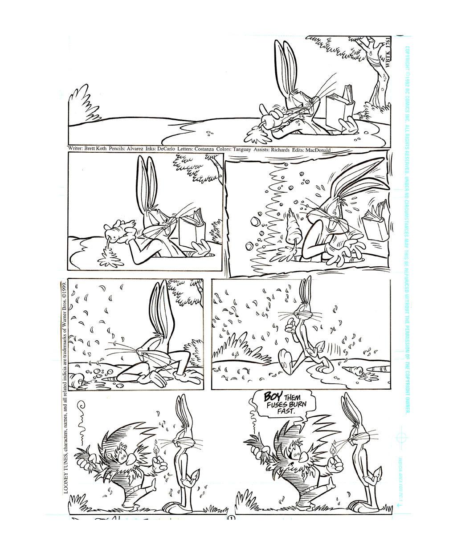 Bugs Bunny Gag-1 by DaveAlvarez