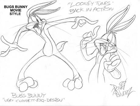 LTBIA-Model Sheet-Bugs Bunny