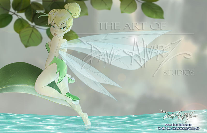 Tinkerbell at the Lake by DaveAlvarez