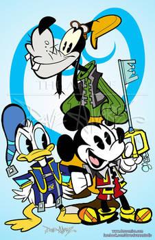 New Mickey Kingdom Hearts