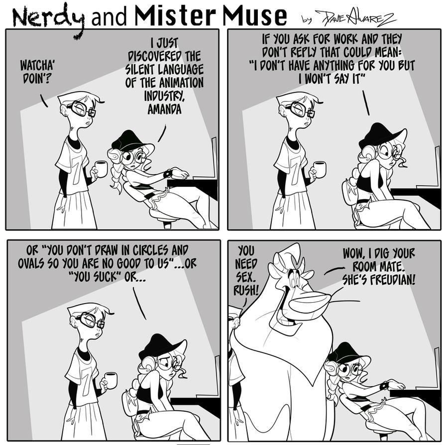 Nerdy and Mister Muse  by DaveAlvarez