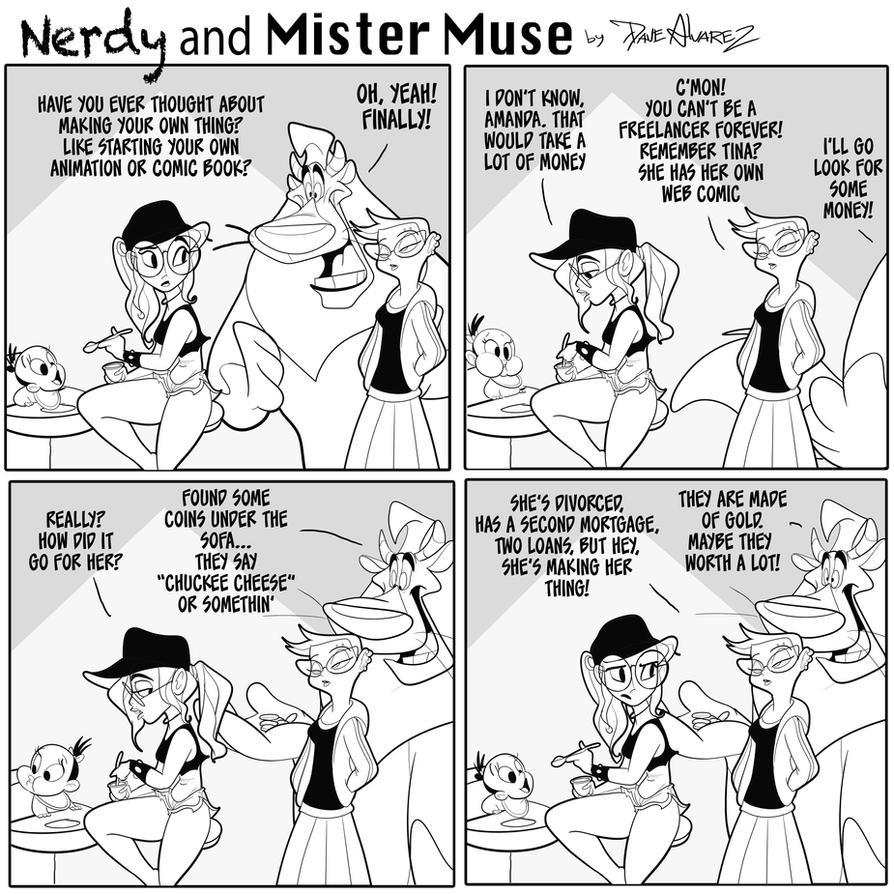 Nerdy and Mister Muse reality check  by DaveAlvarez