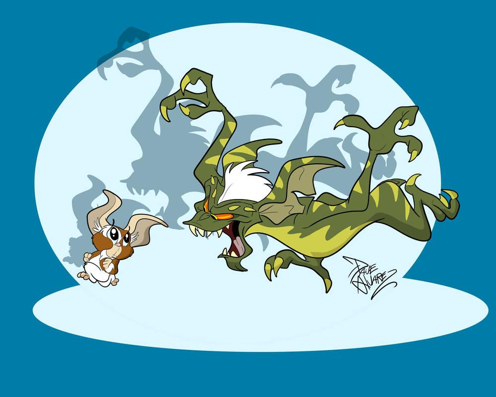 Chuck Jones Gremlins  by DaveAlvarez