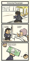 TAT: Annoying Passenger by Poporetto