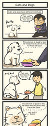 TAT: Cats and Dogs by Poporetto