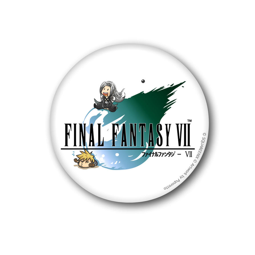final fantasy vii logo by poporetto on deviantart