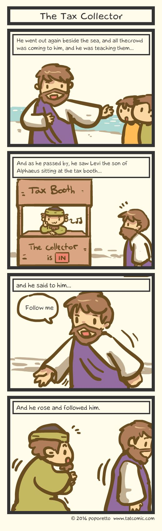 Book of Mark - The Tax Collector by Poporetto