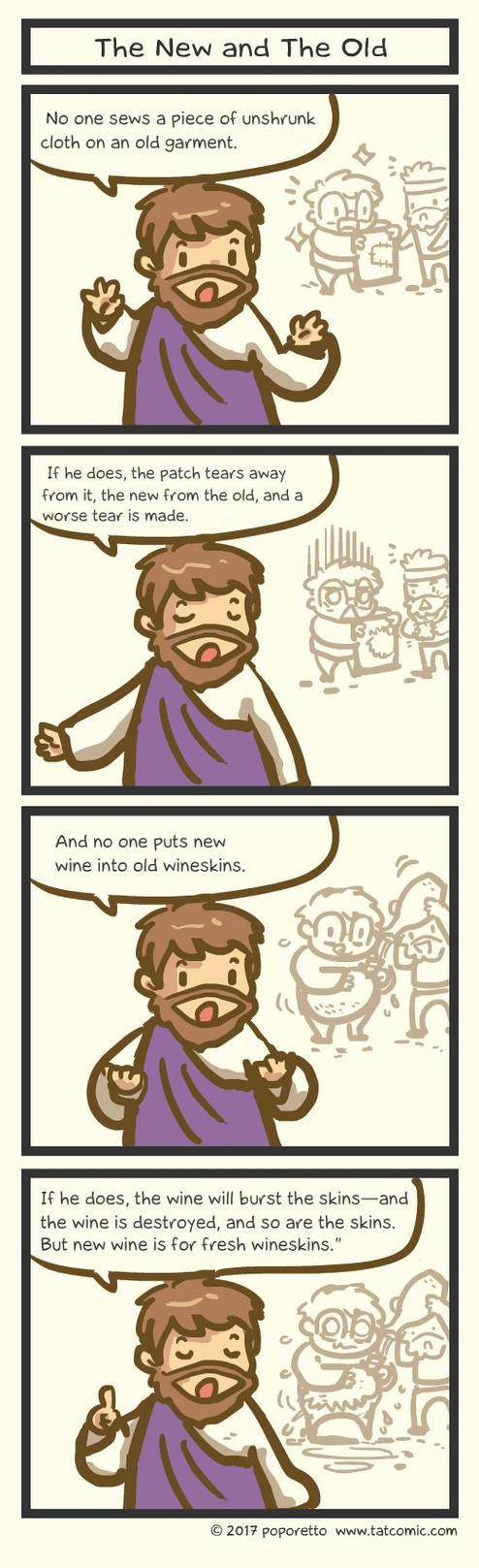 Book of Mark - The New and The Old by Poporetto