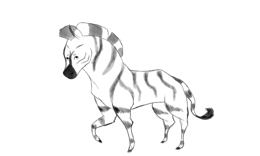 Zebra by BlueFoxy567