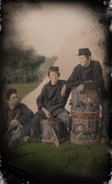 Drummer Boys by gabrielmartin1776