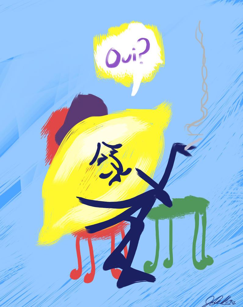 Monsieur Lemon by JPurcell