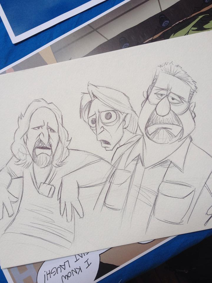 8 year olds Dude - The Big Lebowski by JPurcell