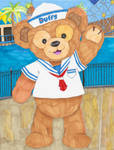 Duffy the Disney Bear by MellowSunPanther