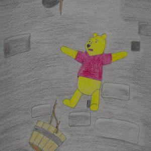 Pooh Falls Down the Wishing Well