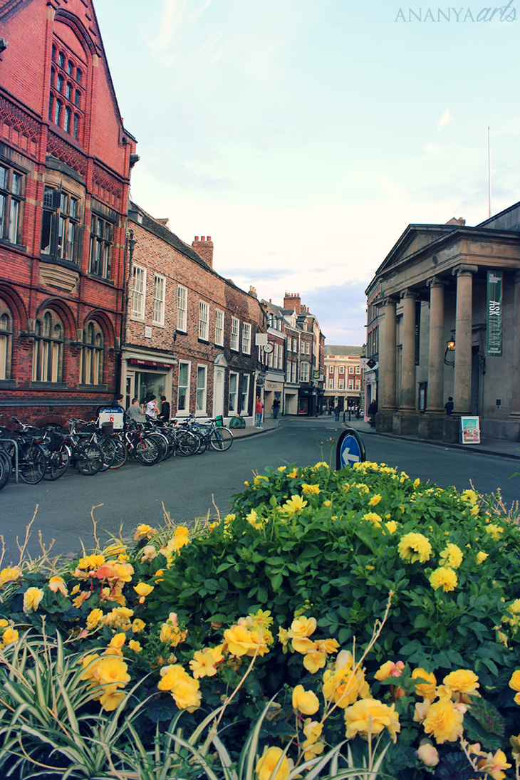 Streets of York by AnanyaArts