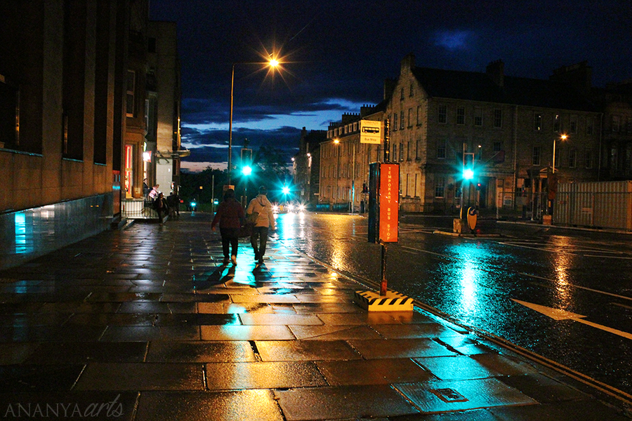 Rainy Nights by AnanyaArts