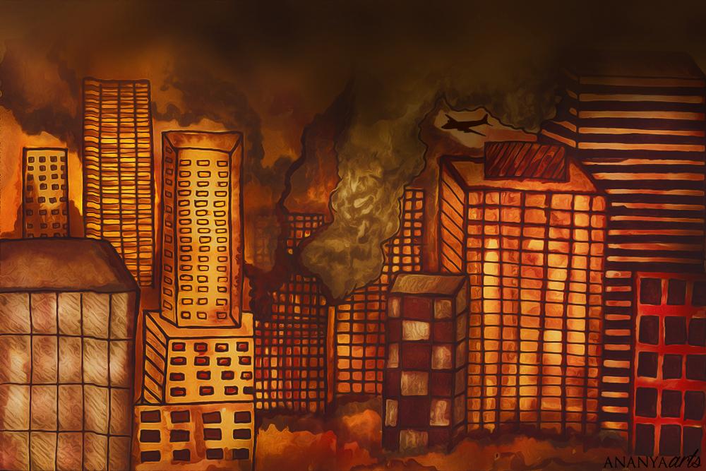 Artist illustration of the battle of San Diego (Original illustration by AnanyaArts)