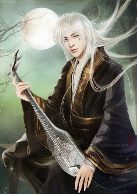 -guqin-Eien by shuangwen