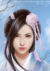 Fuchida Tsuyako by shuangwen