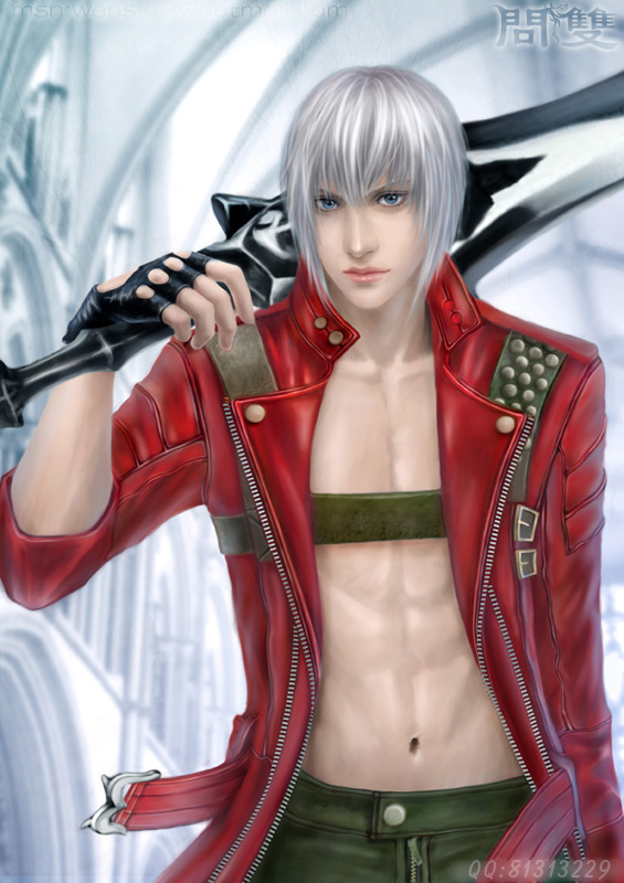 devil may cry-DANTE by shuangwen