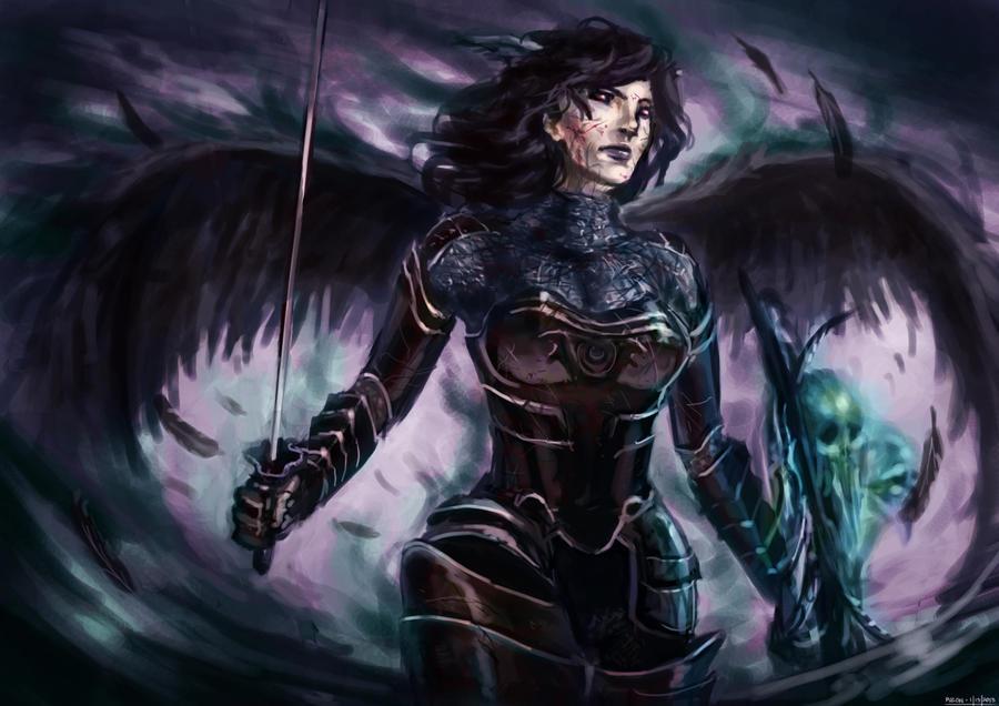 Dark Sigrun (edited) by niafrancois
