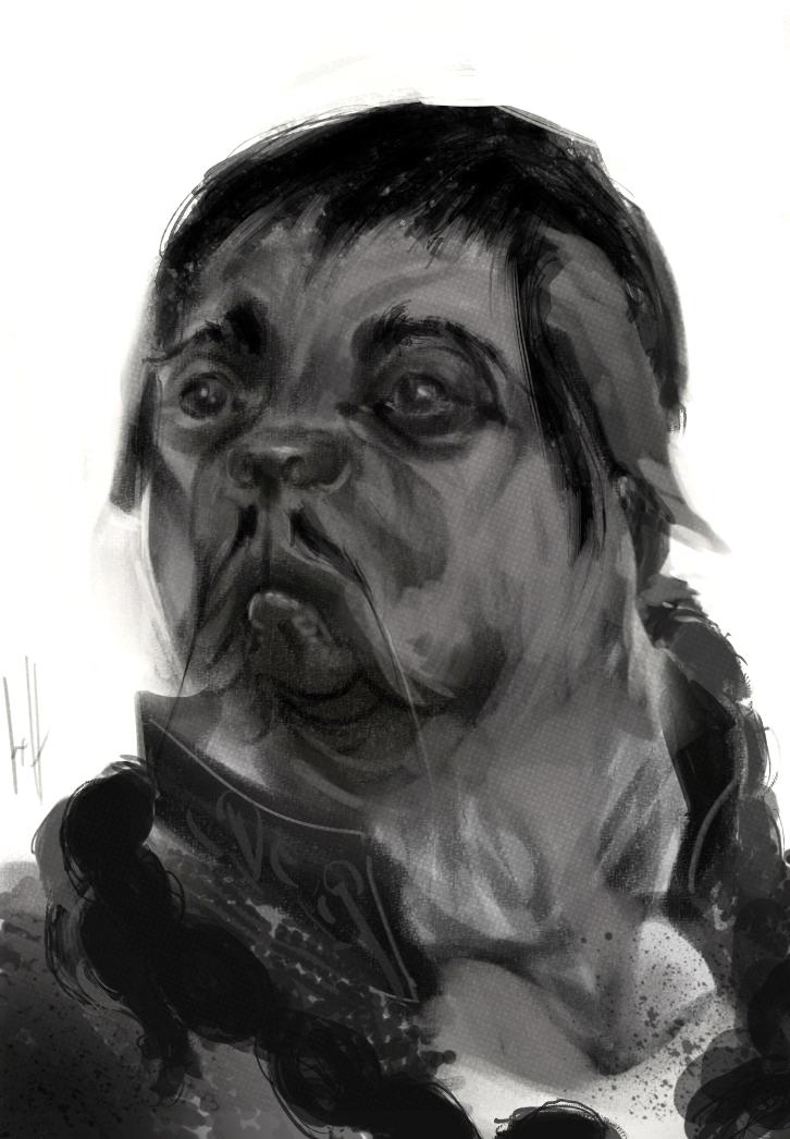 PanHu Sketch 01 by cosmodog