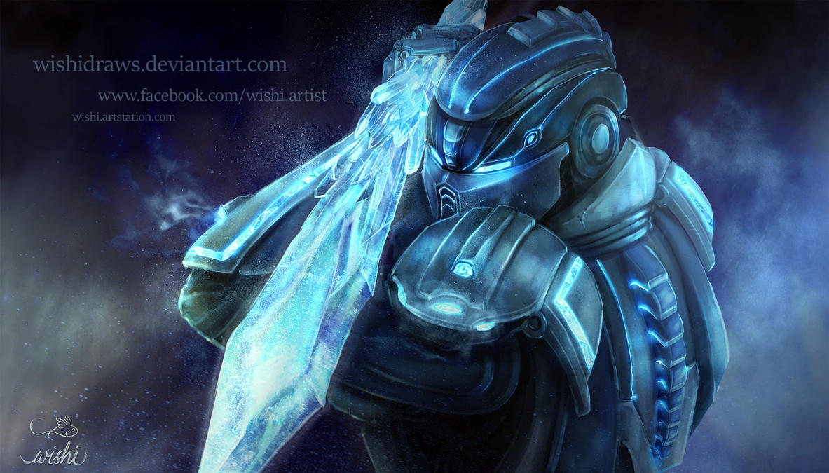 Cyber Sub Zero Inspiration By WishiDraws