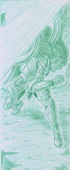 Fight with Loki - Camus