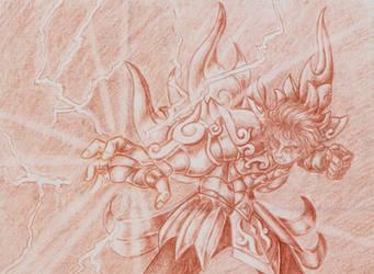 Fight with Loki2 - Aiolia