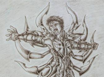 Fight with Loki2 - DeathMask