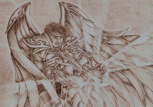 Fight with Loki2 -Aiolos