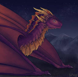 Game of Thrones Style Spyro by NaMoogly
