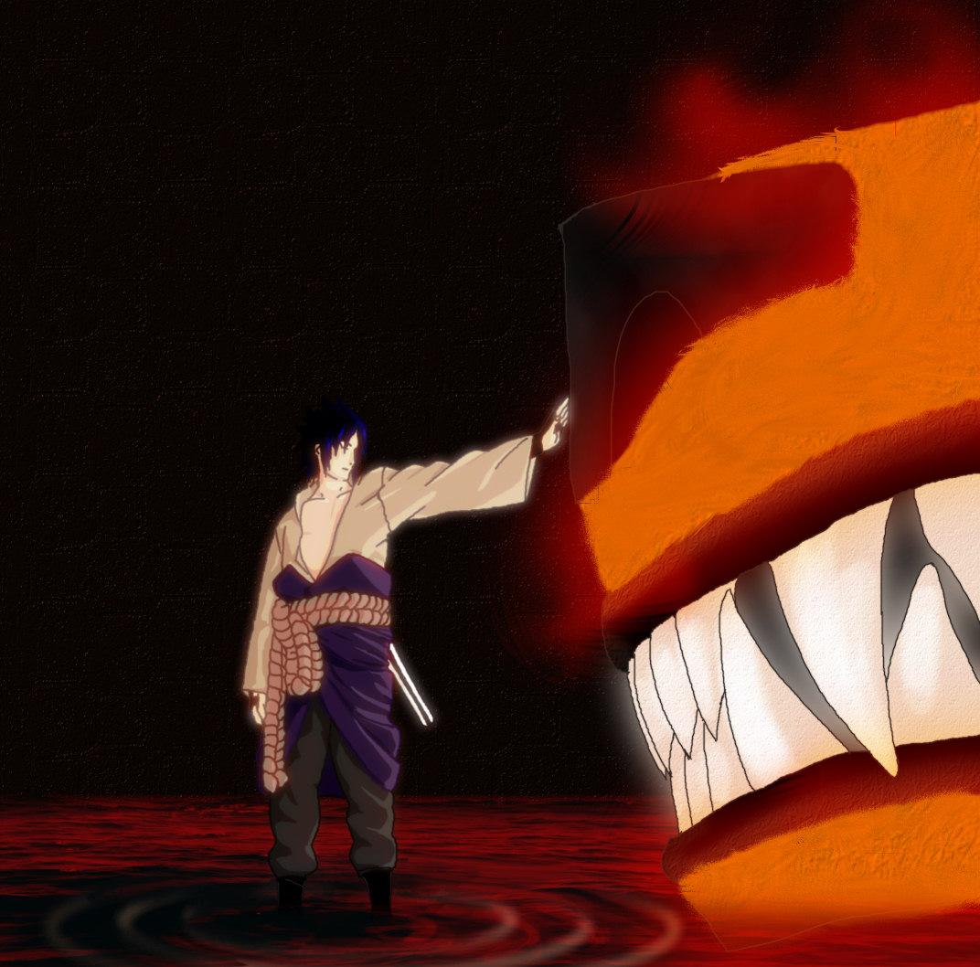 Kyûbi vs Naruto !!