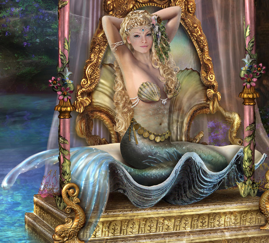 Mermaid  princess by irenejones-art