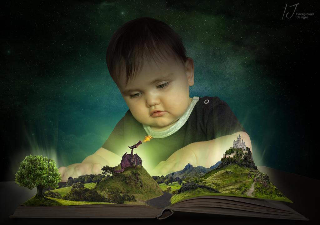 Jacks story book by irenejones-art