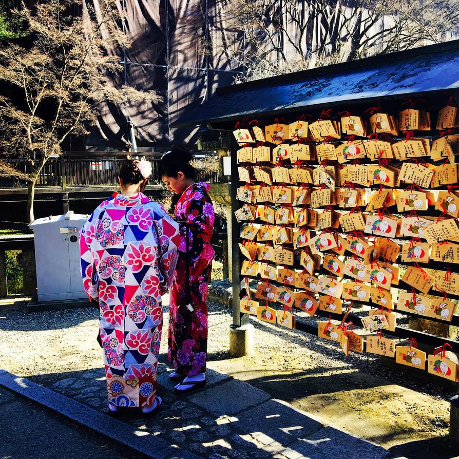 Japanese Kimono by RyuADBrasil